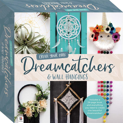 Dreamcatcher and wall hangings kit