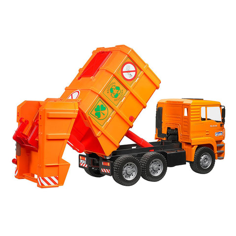 Garbage Truck with Rear Loading