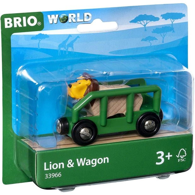 Lion and Wagon