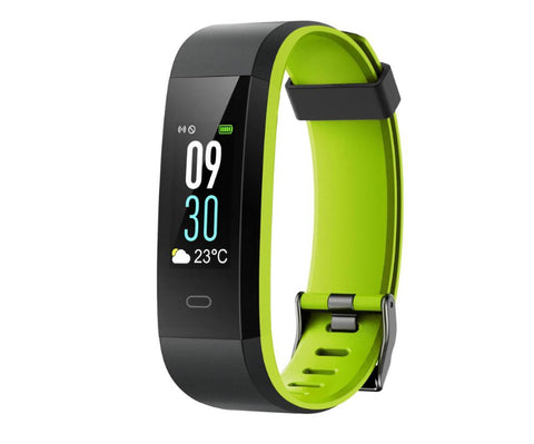 GPS Activity Tracker - Green and black