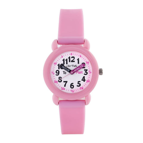 Watch - Candy Pink Time Teacher