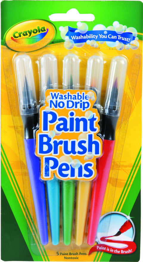 Paint Brush Pens