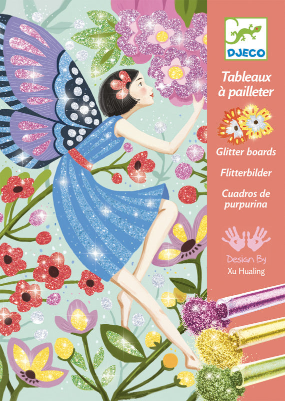 The Gentle Life of Fairies Glitter Board