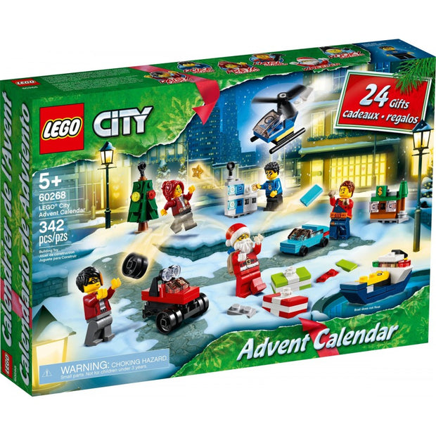 City Advent Calendar 60268