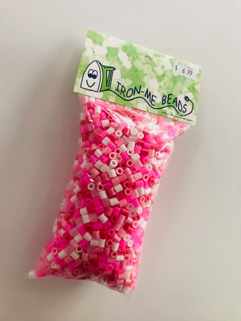 Iron Me Beads - 2000 Candy Pink Mix