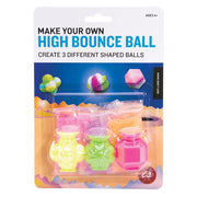 Make your own 3 high bounce balls