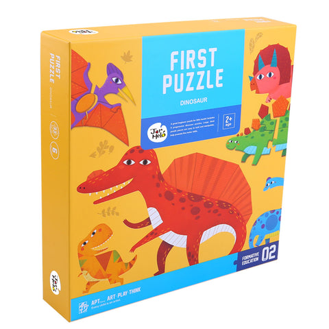 First Puzzle Dinosaur - 6 Puzzles Included