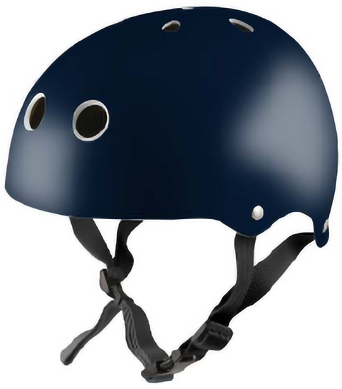 Kiddimoto helmet - Metallic Navy - Small