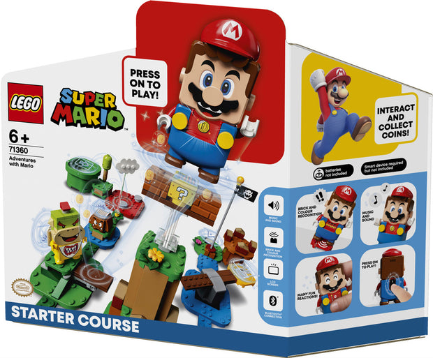 Adventures With Mario Starter Course 71360
