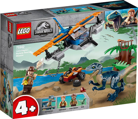75942 Jurassic World Velociraptor: Biplane Rescue Mission