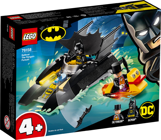 76158 Batman Batboat The Penguin Pursuit!