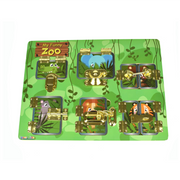 Funny Zoo Latches and Locks Puzzle