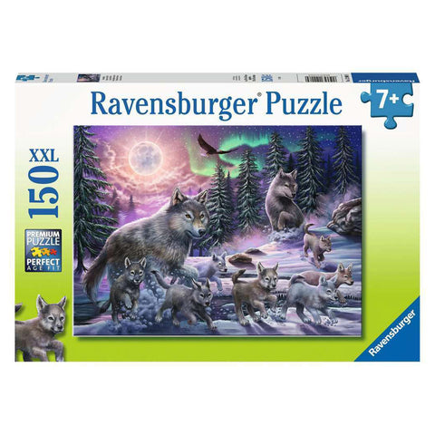 150pce Northern Wolves Puzzle