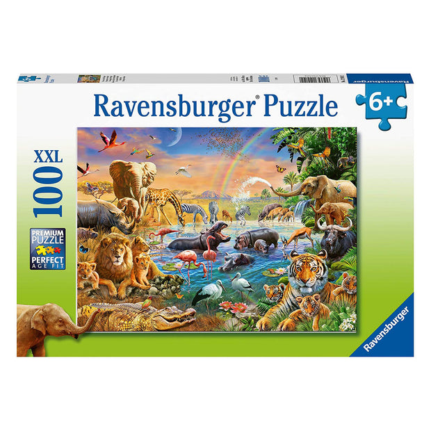 Rburg Savannah Jungle Eaterhole 100pc