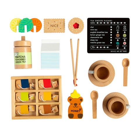 Iconic Wooden Tea Set extension