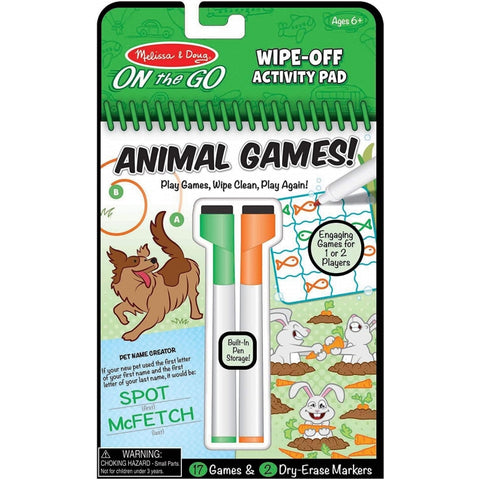 On The Go Animal Games