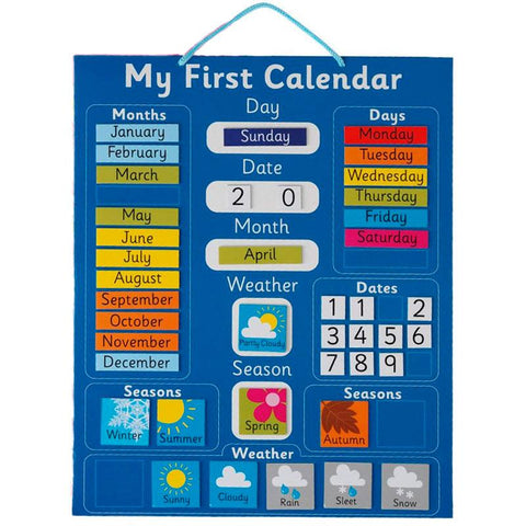 My First Calendar Magnetic