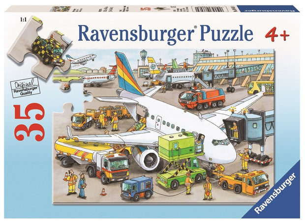 35Pce Busy Airport Puzzle