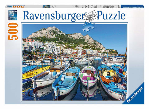 500 pce Colourful Marina Jigsaw Puzzle