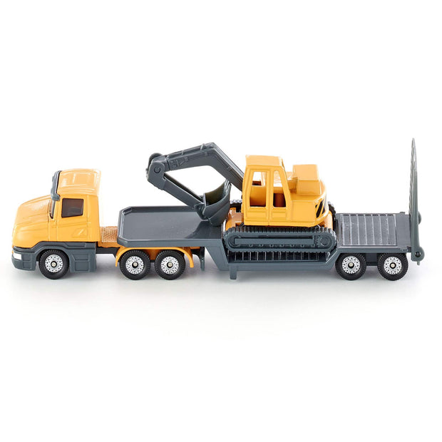 Low Loader with excavator 1611