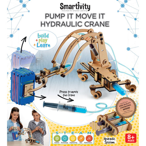 Pump it Move it Hydraulic Crane