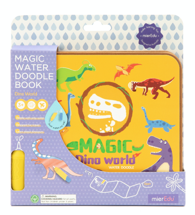 Magic Water Doodle Book -Dino World