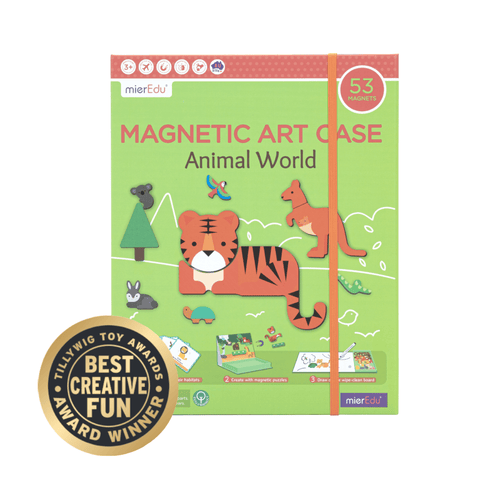 Magnetic Art Case Animal World