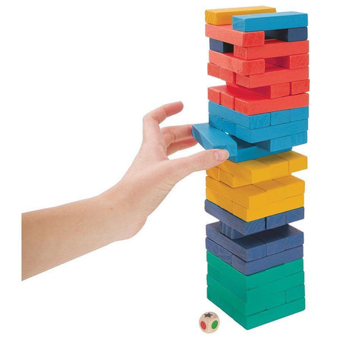 Color Tumbling Tower