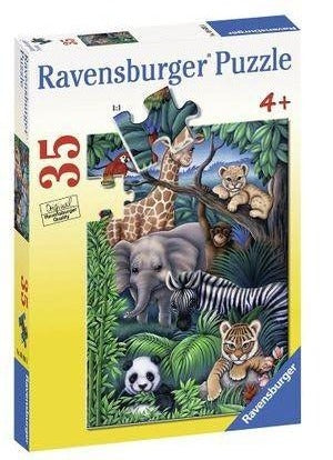 35Pce Animal Kingdom Puzzle