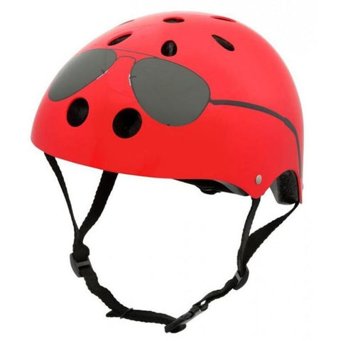 Helmet Red Aviator - Medium