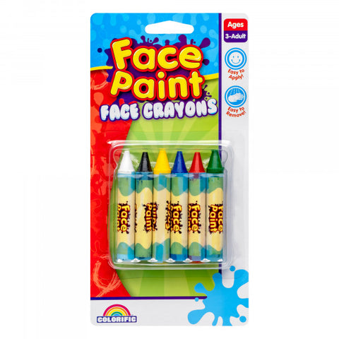 Face Crayons pack