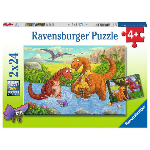 2x24pce Dinosaurs at Play