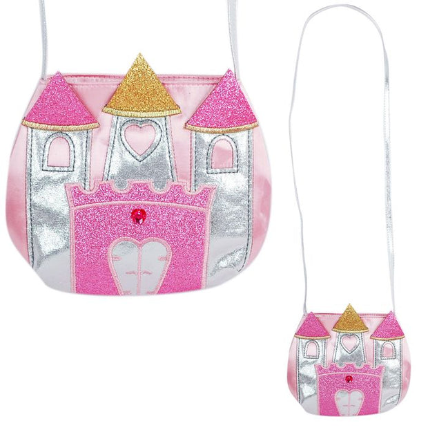 My Fairytale Shoulder Bag - Pink and Silver