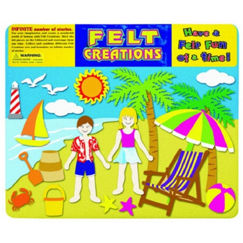Felt Creations Set -  Fun in the sun