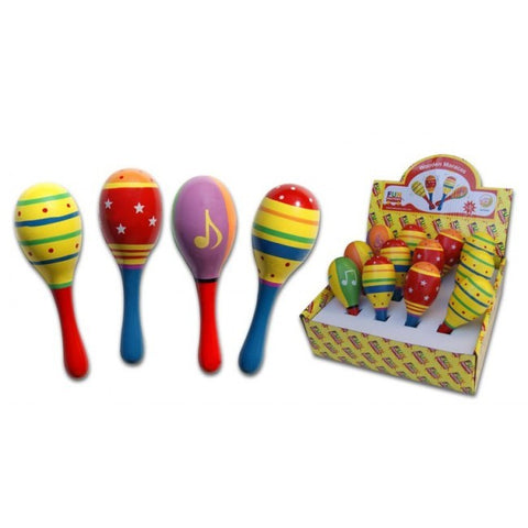Maraca Small Decorated