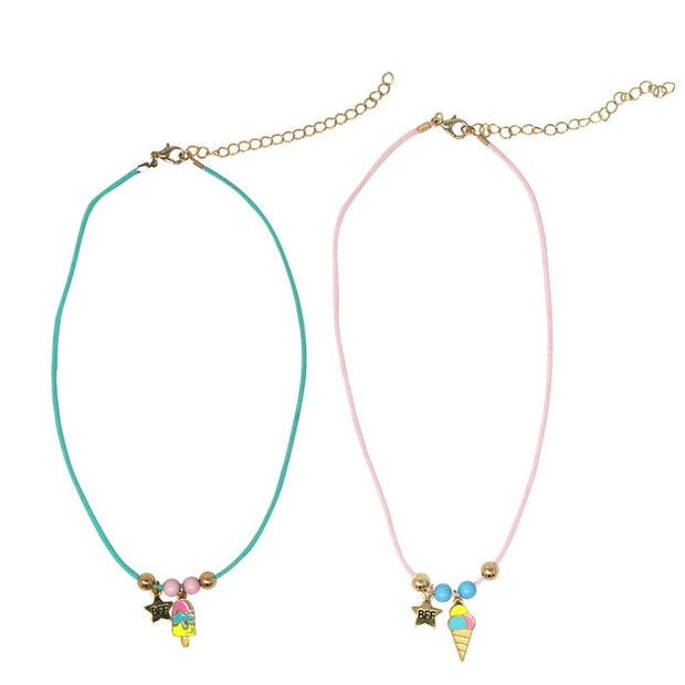 Sweet treats BFF necklace set