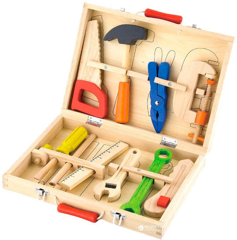 Wooden Tool Box 10pcs