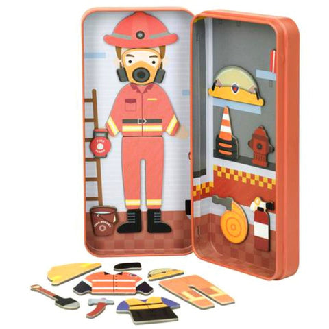 Magnetic Puzzle Tin - Firefighter