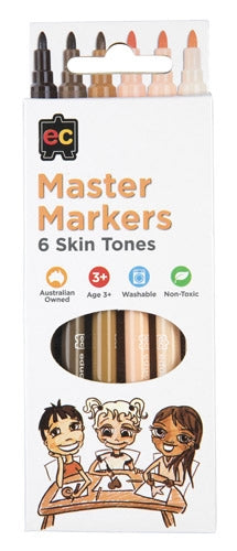 Master Markers Skin tone  6 pack