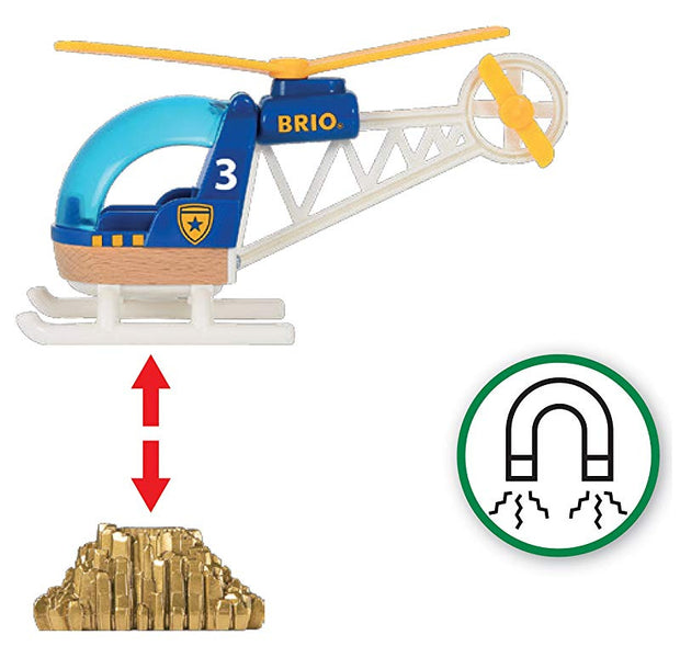 Brio Police Helicopter