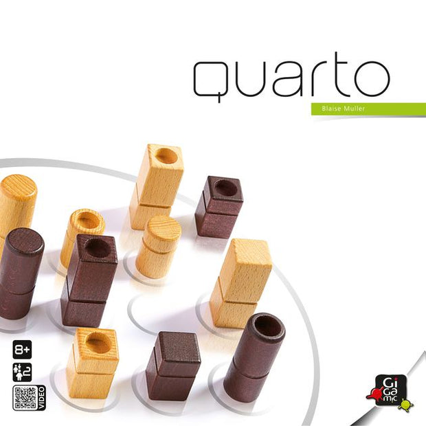 Quarto Wooden Strategy Game