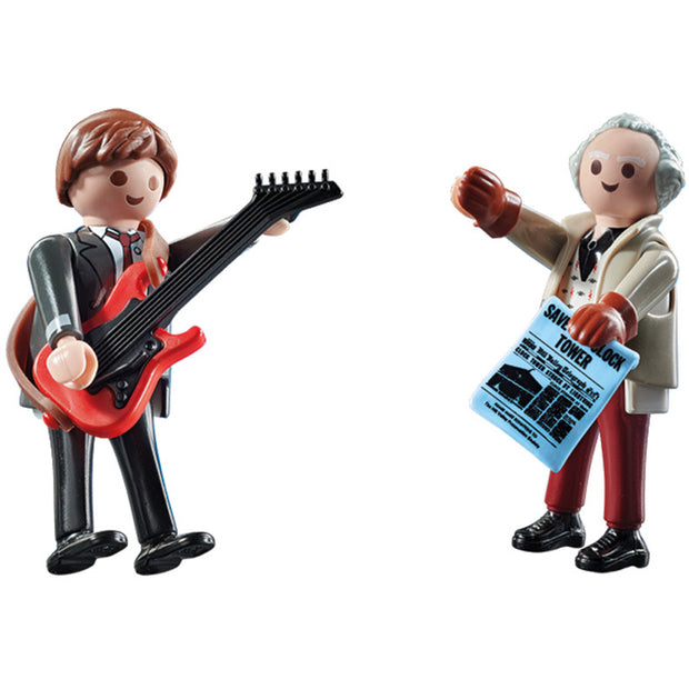 Back to the Future M McFly & Dr Brown 70459