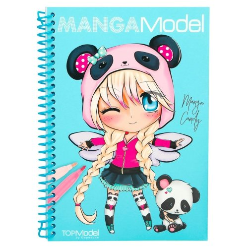 Manga Model Colour and design