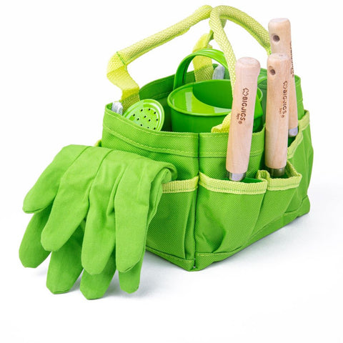Garden Tools and Tote Bag Set