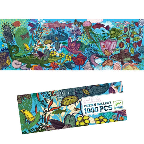 1000pce Land and Sea Gallery Puzzle