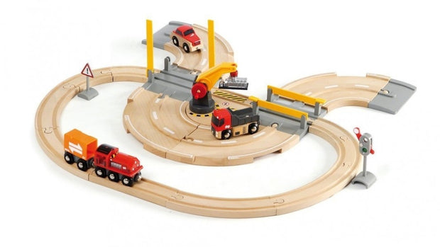 Rail & Road Crane Set