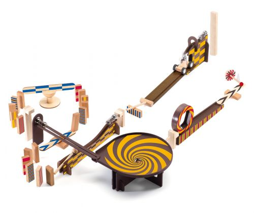 Zig and Go Marble Run/Dominoes Set