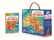 210 Pieces Travel, Learn and Explore Australia Oval Puzzle