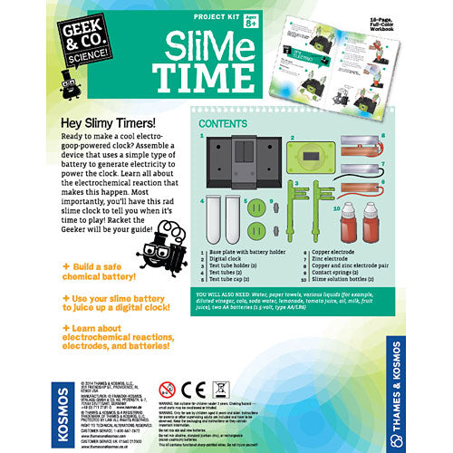 Slime Time science kit