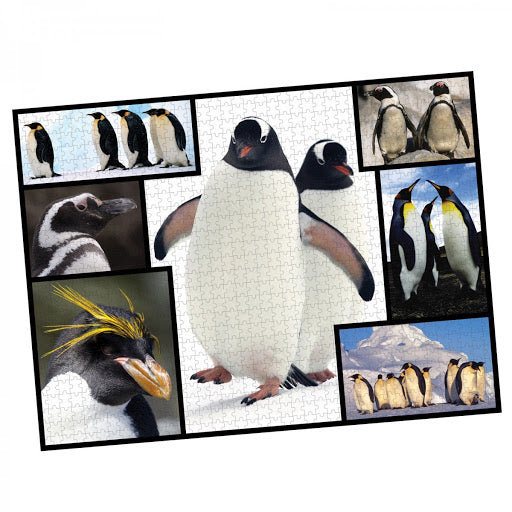 1000 Piece WWF Penguin